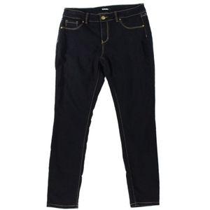 """D.Jeans New York"" Black Skinny Jeans Size 8"